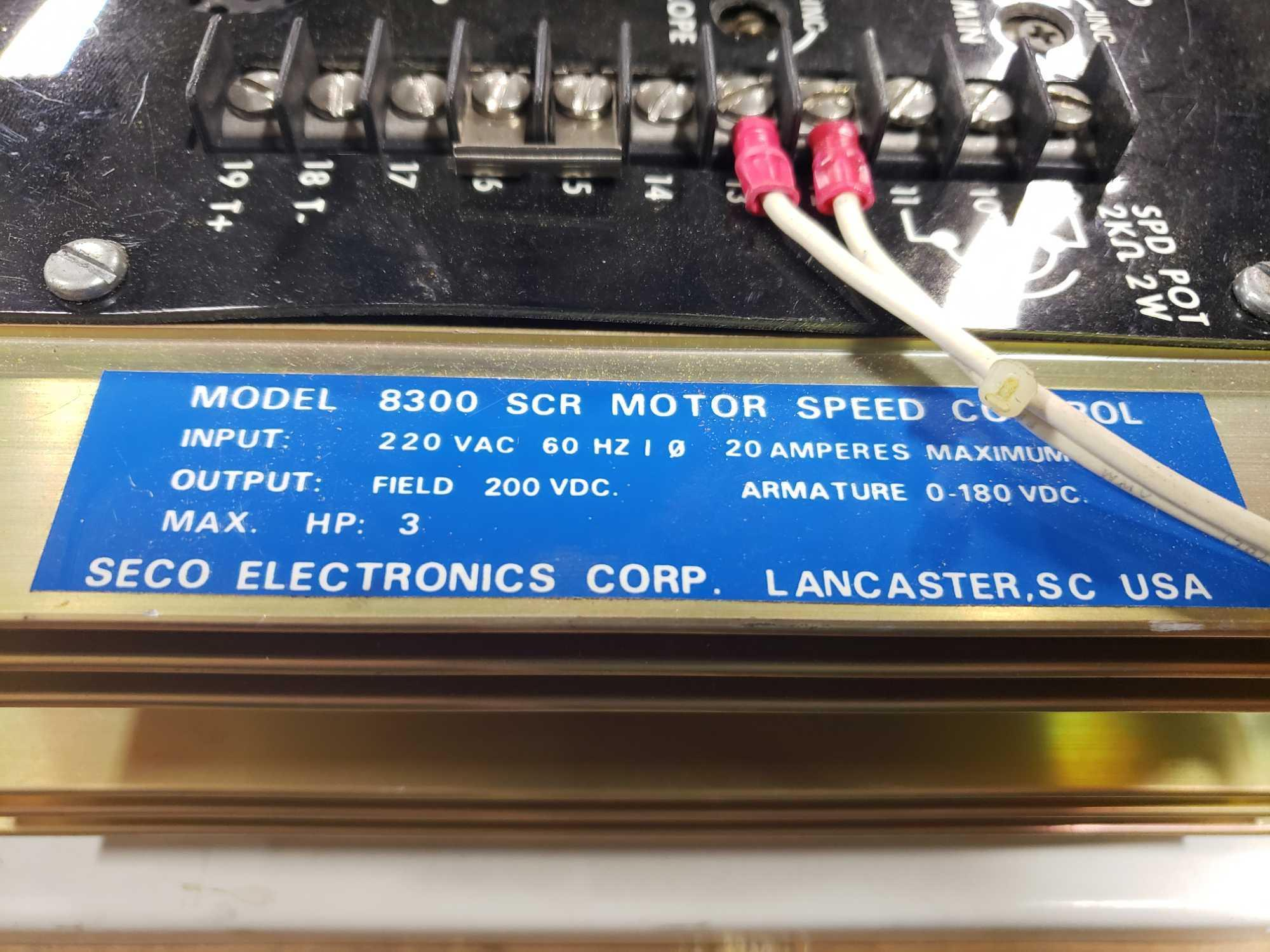 Seco Electronics model 8300 SCR motor control part 8304-N0.. New in box. - Image 3 of 4
