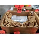 1/3hp WEG motor model 3336ES3EB56C. 208-230/460v 3 phase. 3470rpm. New in box.