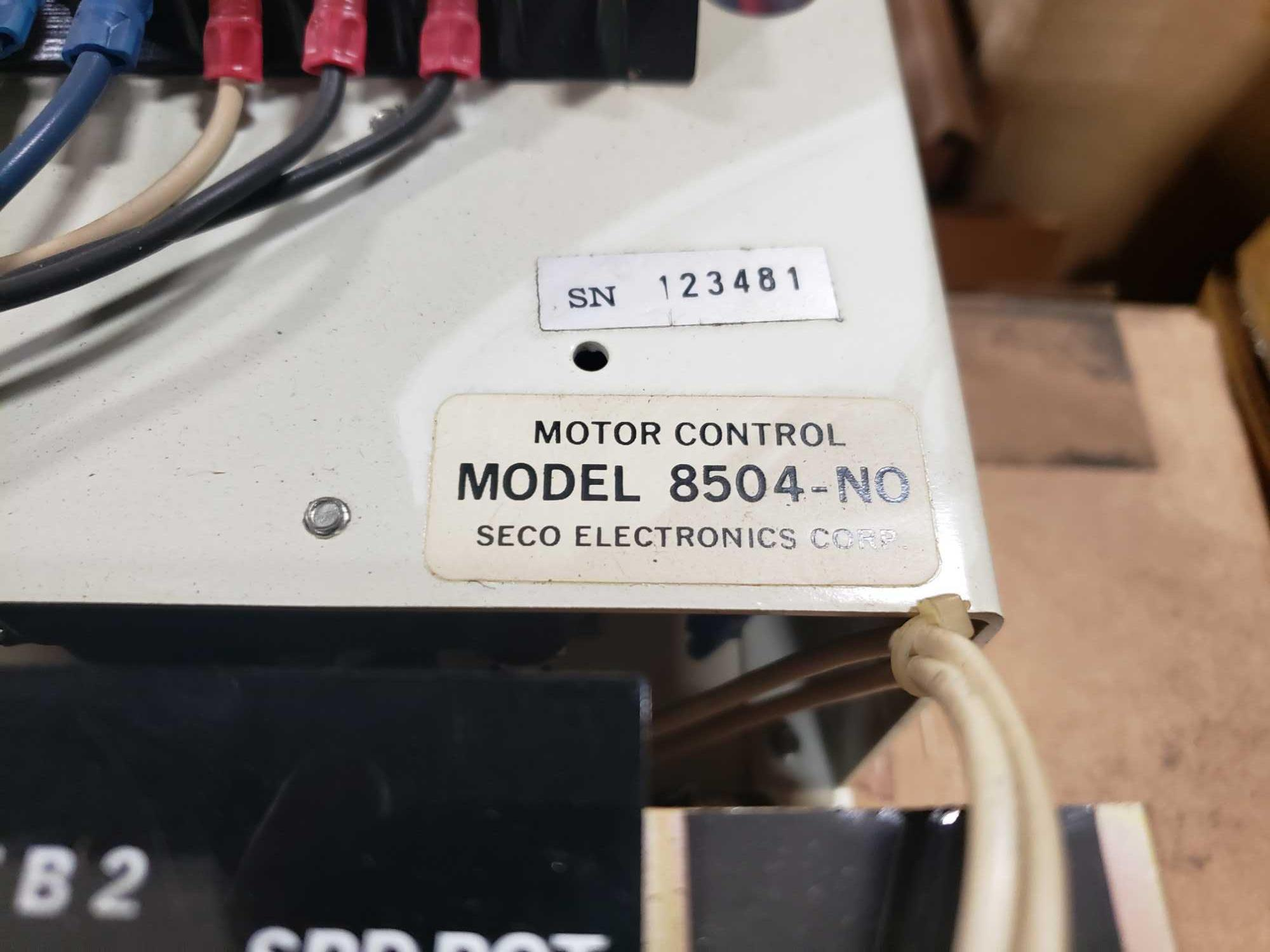 Seco Electronics model 8500 SCR motor control part 8504-N0.. New in box. - Image 2 of 4