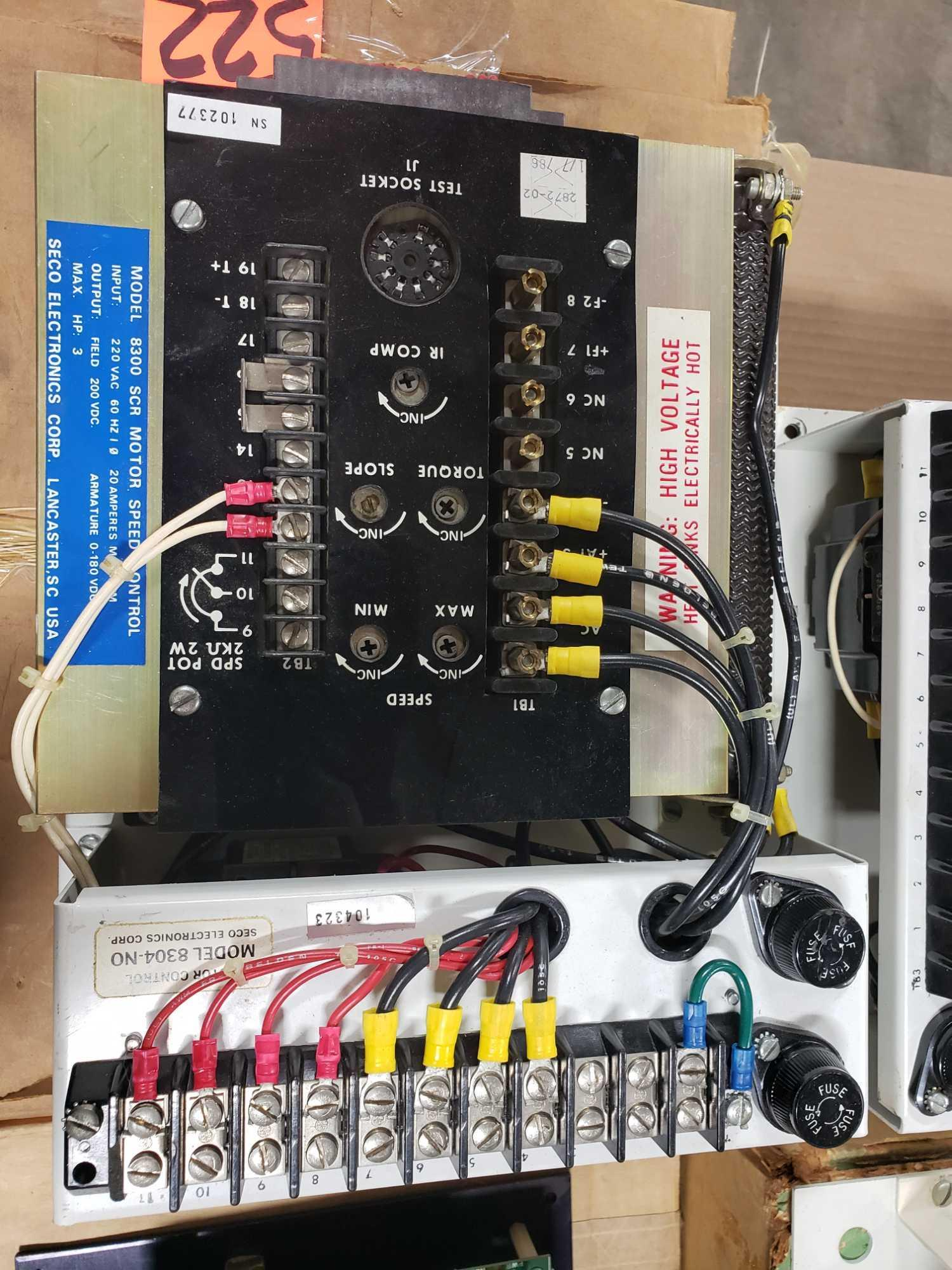 Seco Electronics model 8300 SCR motor control part 8304-N0.. New in box. - Image 4 of 4