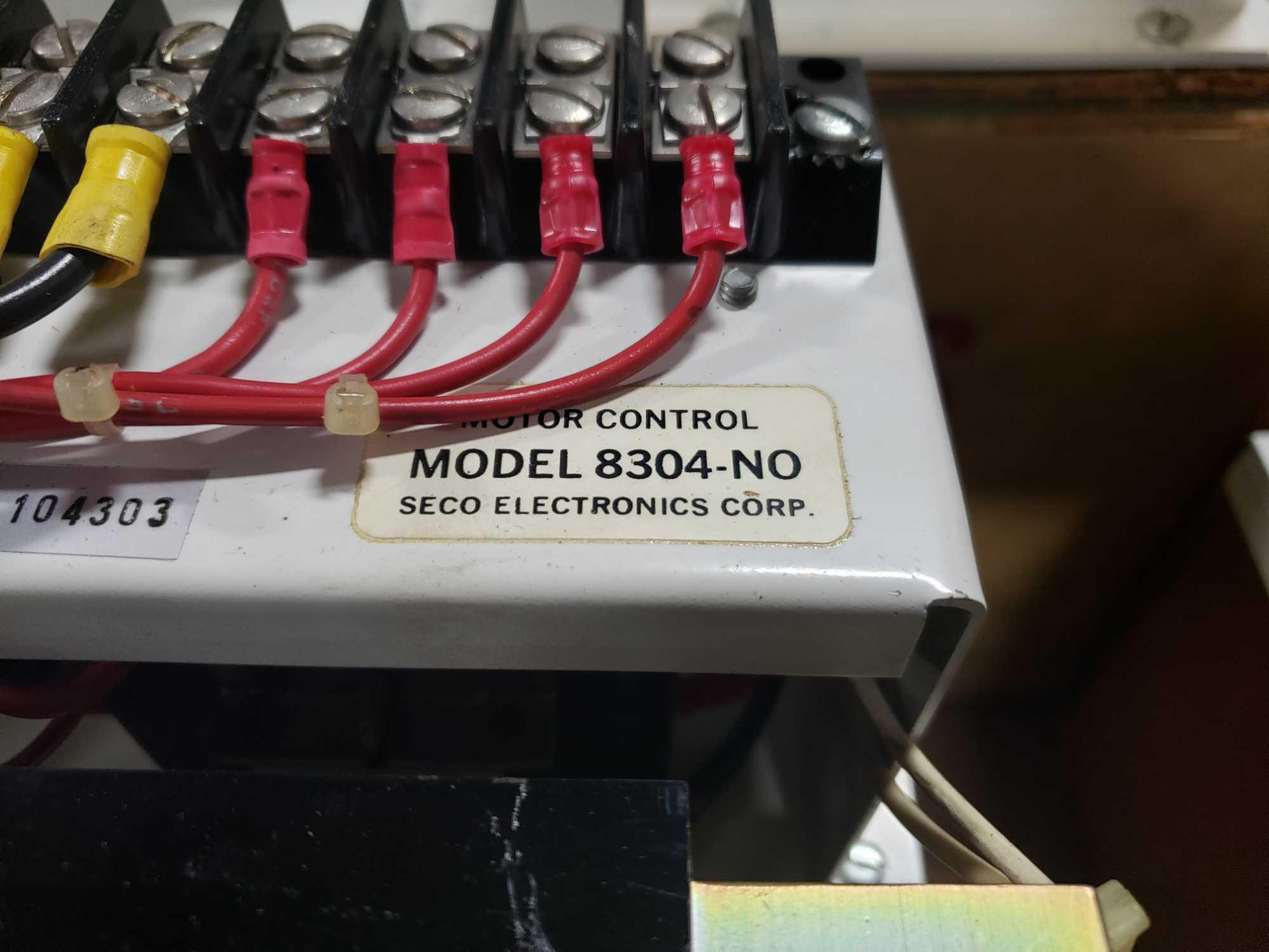Seco Electronics model 8300 SCR motor control part 8304-N0.. New in box. - Image 2 of 4
