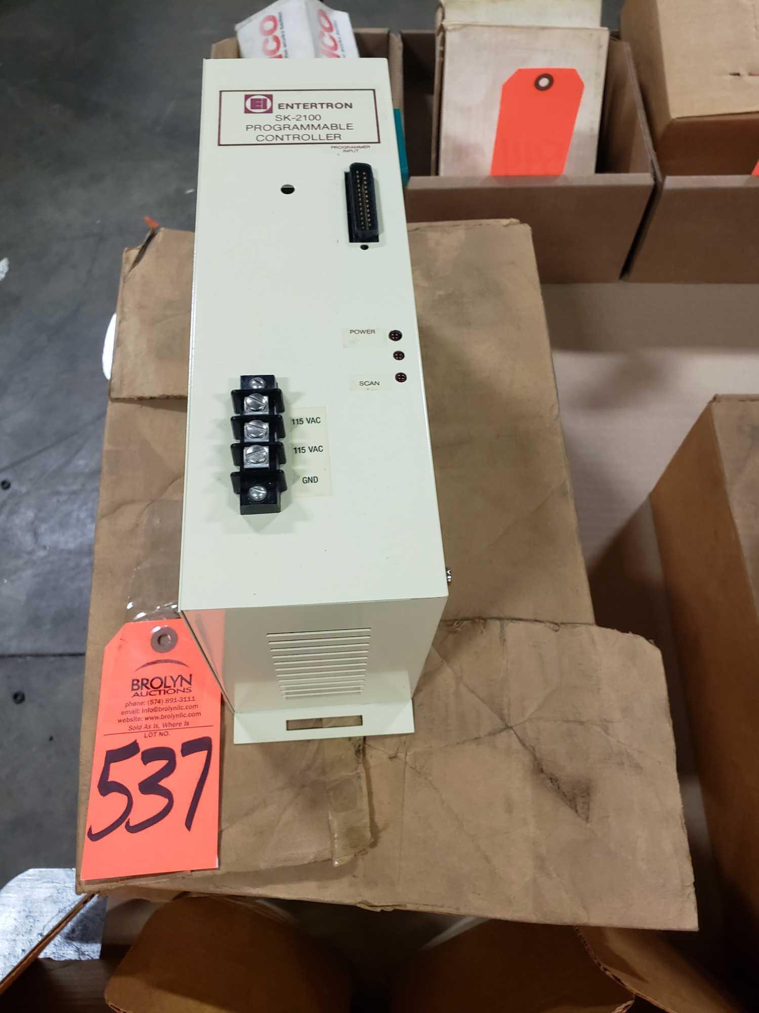 Entertron programmable controller model SK-2100. New in box.