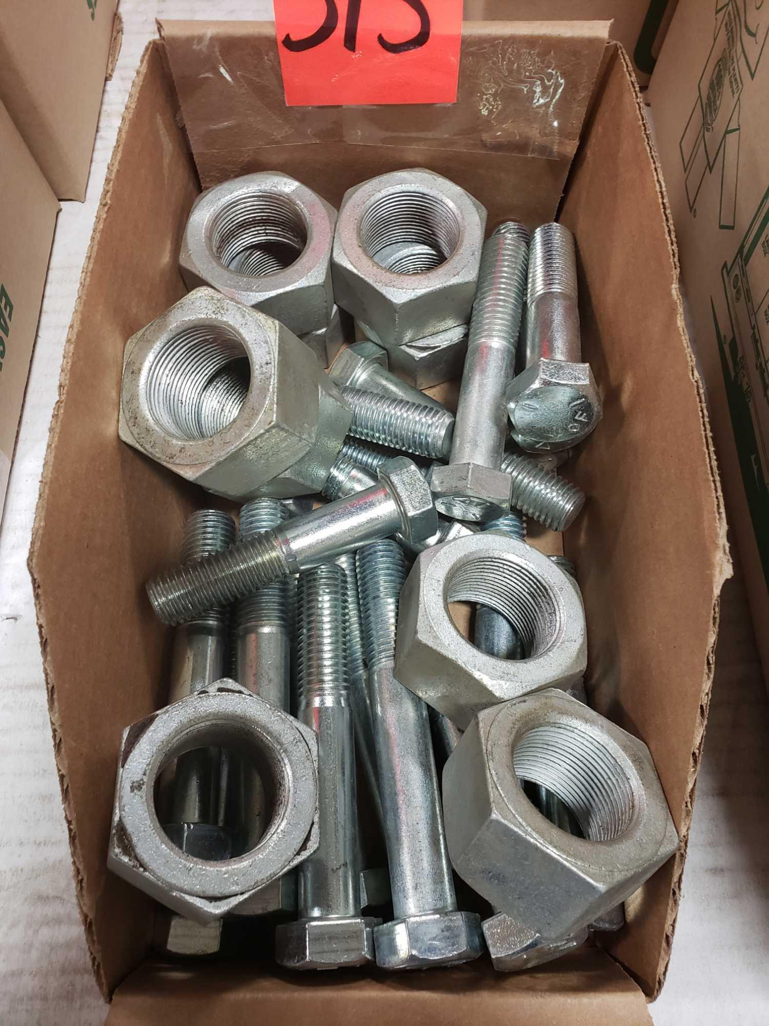 Assorted box new hardware, high grade, nuts, bolts, washers, etc. New in box. - Image 2 of 2