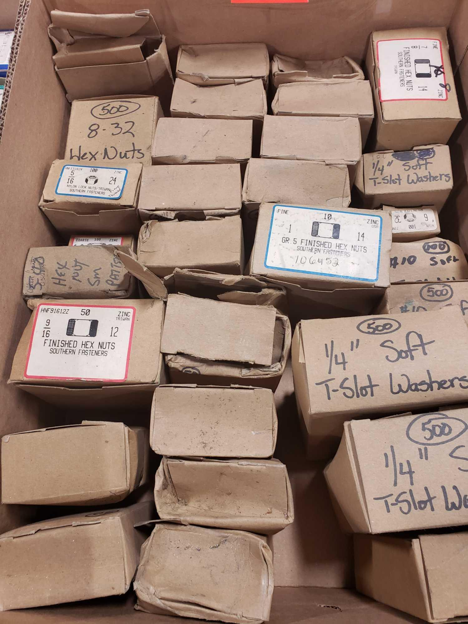 Qty 30 - Assorted boxes of new hardware, high grade, nuts, bolts, washers, etc. New in box. - Image 2 of 2