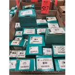 Qty 27 - Assorted boxes of new hardware, high grade, nuts, bolts, washers, etc. New in box.