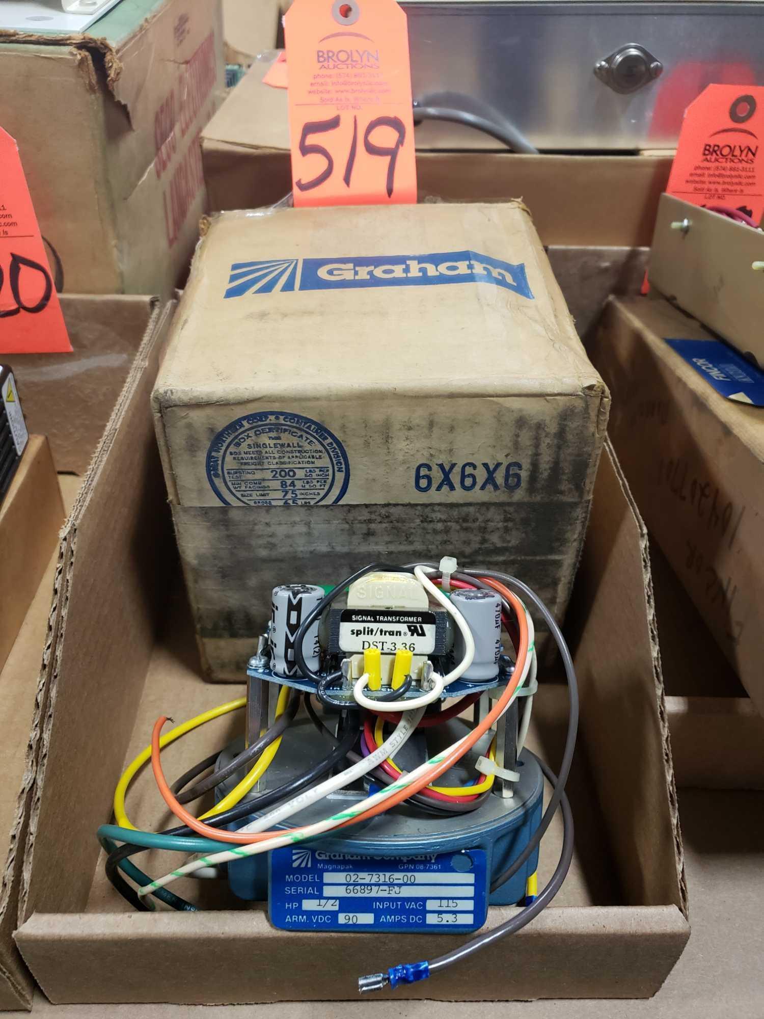 Graham Company Magnapak model 02-7316-00 1/2hp drive. New in box.