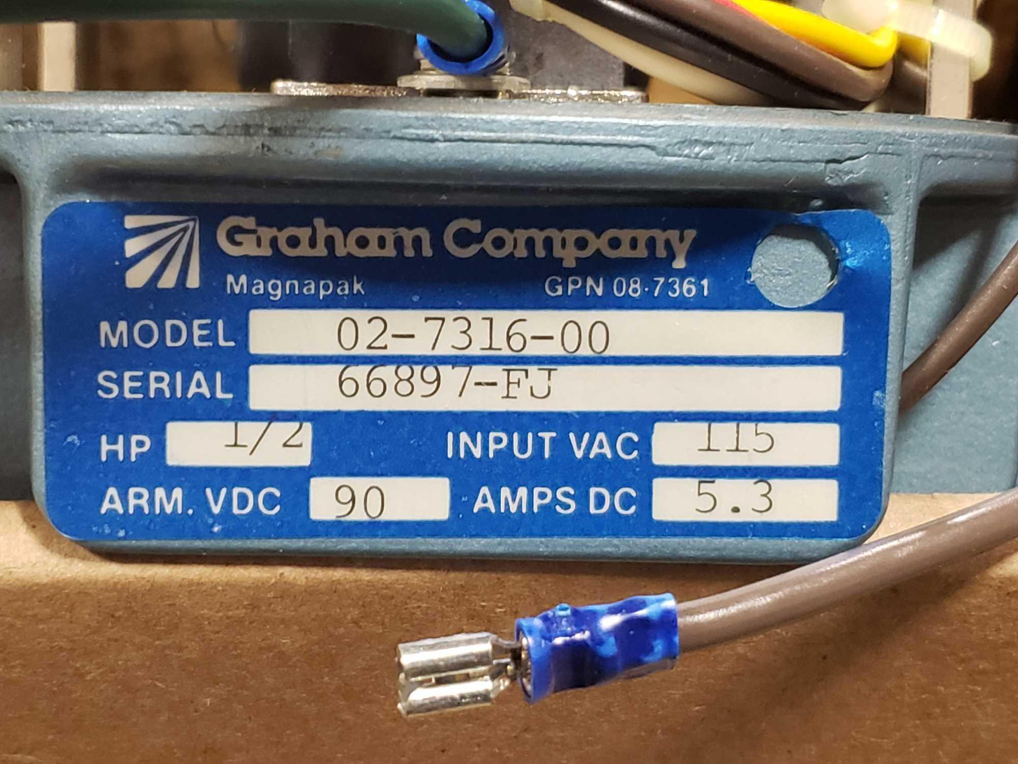 Graham Company Magnapak model 02-7316-00 1/2hp drive. New in box. - Image 2 of 3