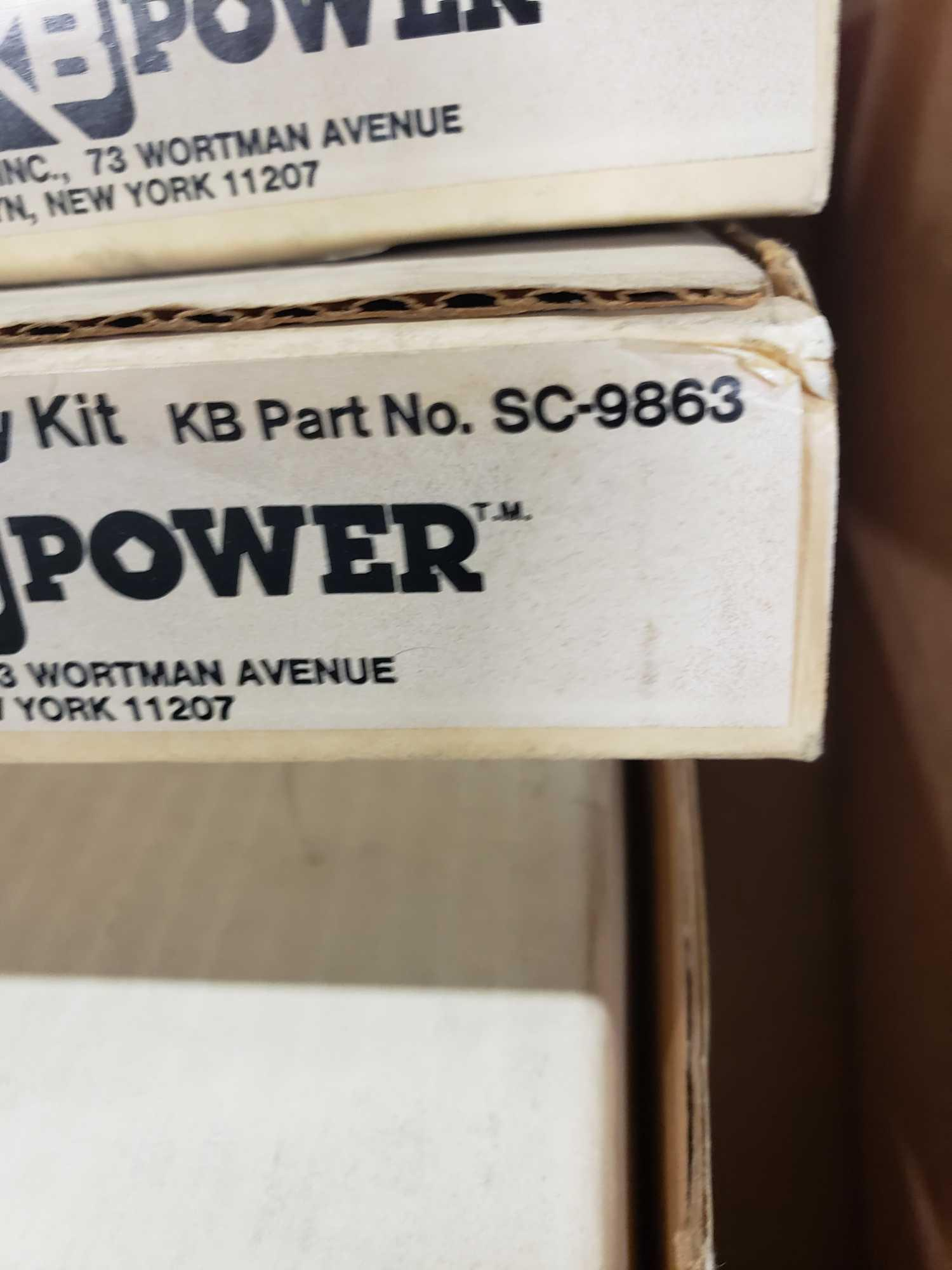 Qty 4 - KB Penta-Power kit part number SC-9863. New in boxes. - Image 2 of 2