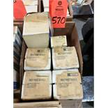 Qty 6 - Assorted GE electric components. New in box.
