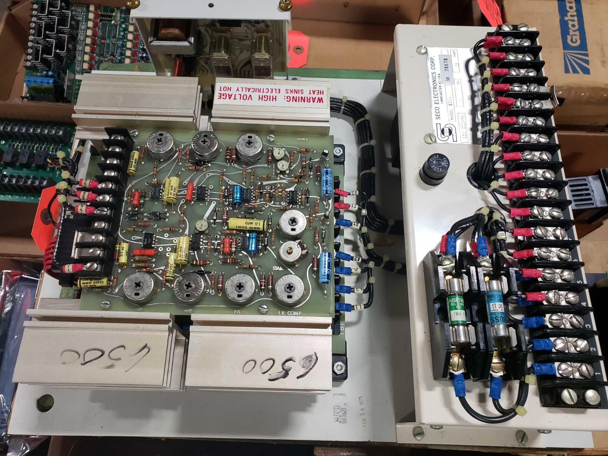 Seco Electronics model 86500 SCR motor control part 6504-N0.. New in box. - Image 3 of 3