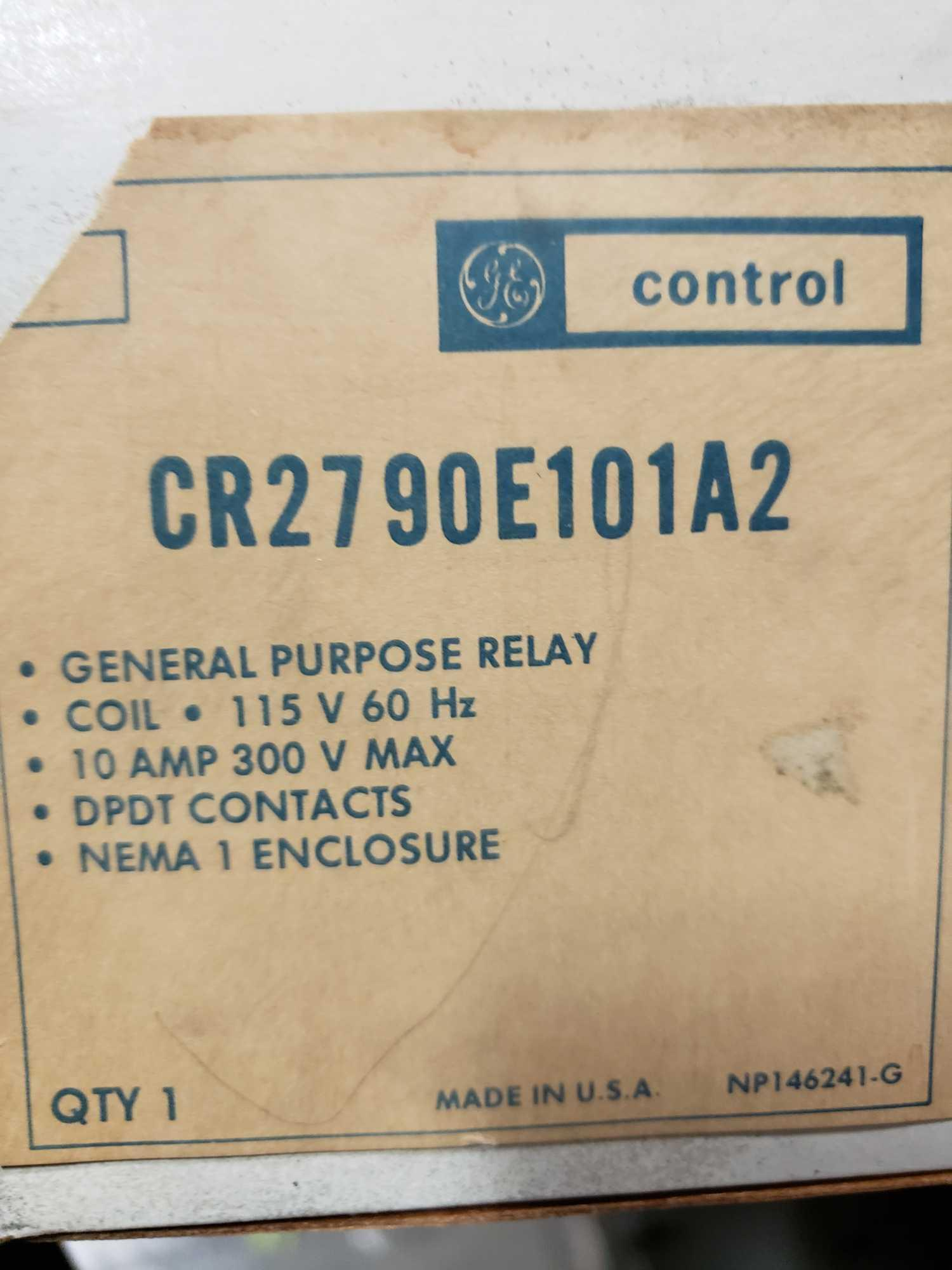 Qty 3 - GE controls general purpose relay model CR2790E101A2. New in boxes. - Image 2 of 2