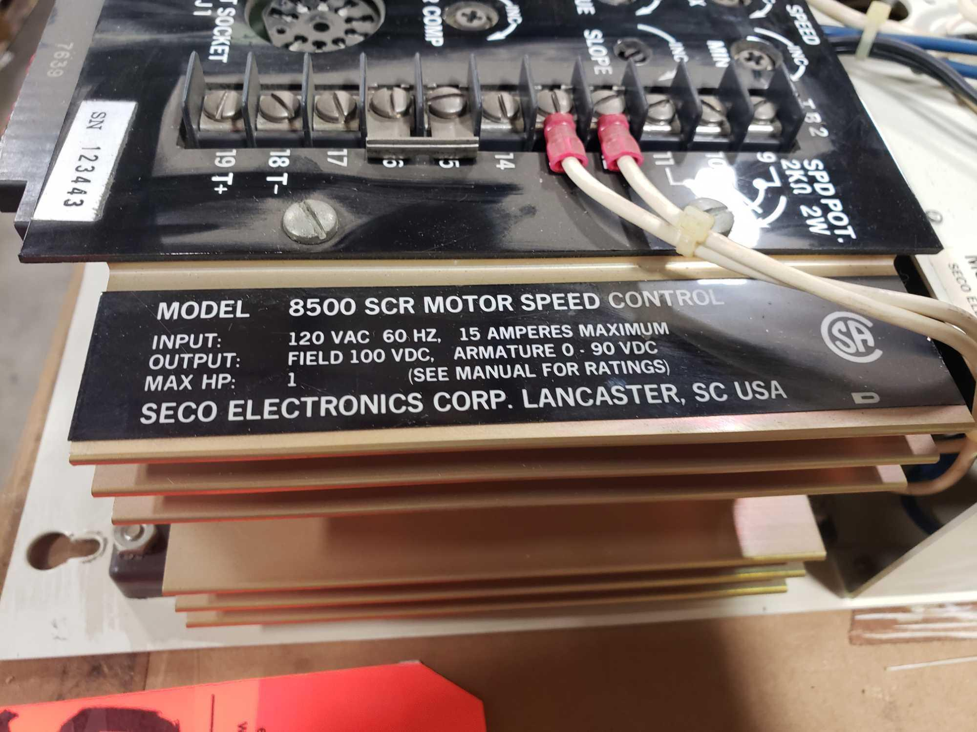 Seco Electronics model 8500 SCR motor control part 8504-N0.. New in box. - Image 3 of 4