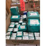 Qty 32 - Assorted boxes of new hardware, high grade, nuts, bolts, washers, etc. New in box.