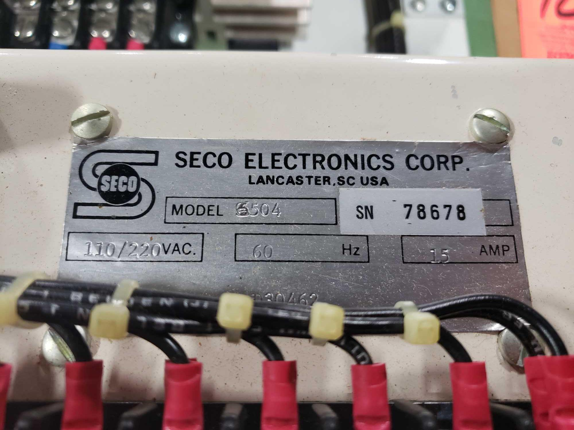 Seco Electronics model 86500 SCR motor control part 6504-N0.. New in box. - Image 2 of 3