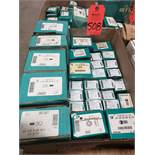 Qty 28 - Assorted boxes of new hardware, high grade, nuts, bolts, washers, etc. New in box.