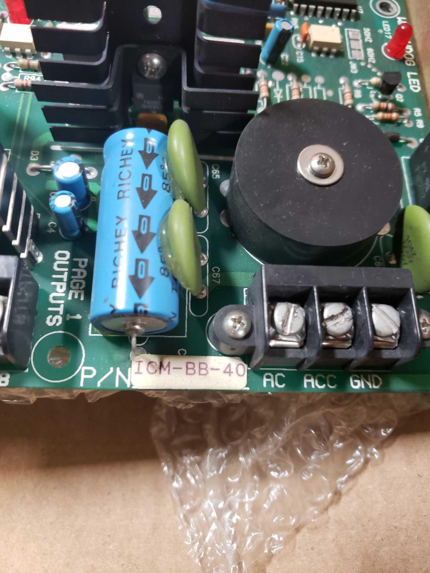 Devilbiss control board model ICM-BB-40. - Image 3 of 4