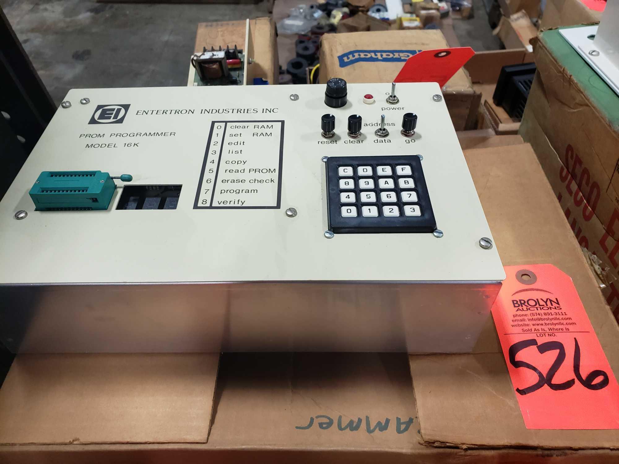 Entertron Industries Prom Programmer model 16K. New in box.