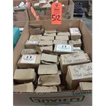 Qty 30 - Assorted boxes of new hardware, high grade, nuts, bolts, washers, etc. New in box.