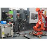 2002 ABB IRB4400 6 AXIS ROBOT, S/N 0716.12977120-012, W/CONTROL PANEL AND PENDANT CONTROL