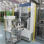 ADAPTO 318A-A PARTS FEEDER SYSTEM INCL FEED RIT AUTOMATION HOPPER, BOWL, INLINE AND CONVEYOR