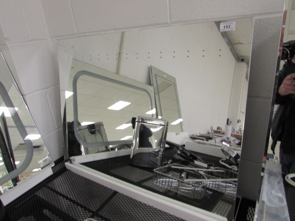 800 x 600 led mirror with sensor switch for Mirror 800 x 600