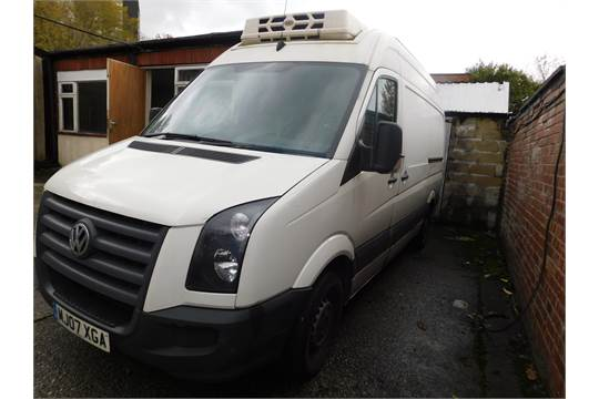Volkswagen Crafter CR35 MWB High Roof Refrigerated Panel Van with