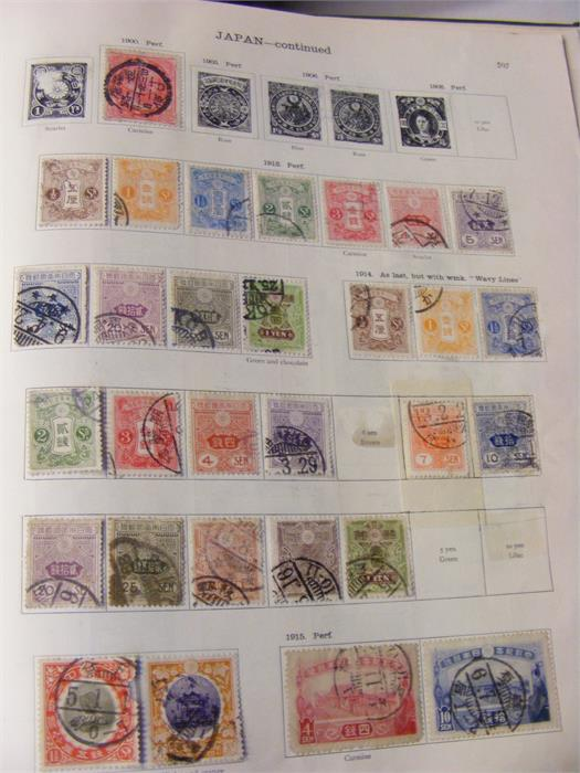 """Lot 46 - """"The New Ideal Postage Stamp Album"""" - Foreign Count"""