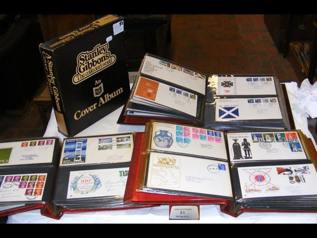 Lot 51 - An album of First Day Covers 1965 - 1971, together