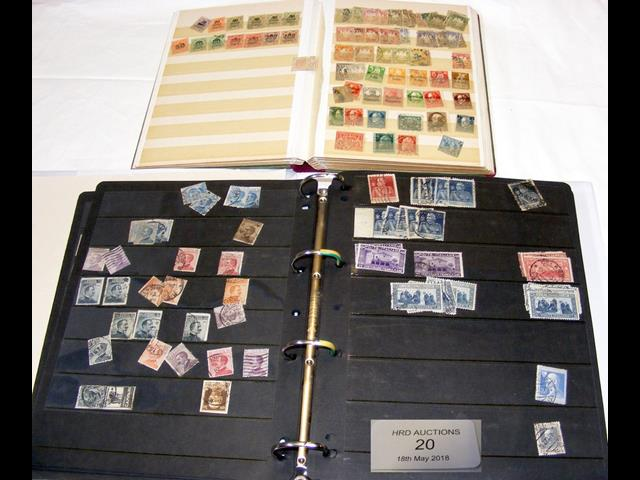 Lot 20 - A stamp album with stamps relating to Italy, toget