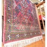 """Persian rug, 40"""" x 59"""""""