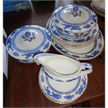 Booths silicon china dinnerware, pattern no. 9780