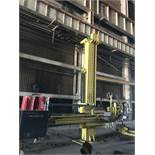 approx. 16' by 16' high welding manipulator
