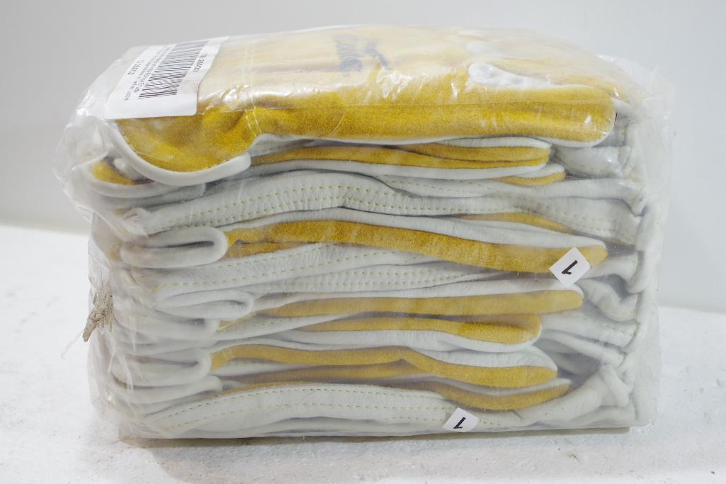 Lot 1057 - [12] Pairs NEW CONDOR Cowhide Drivers Gloves, Size L, M/N 29JV32