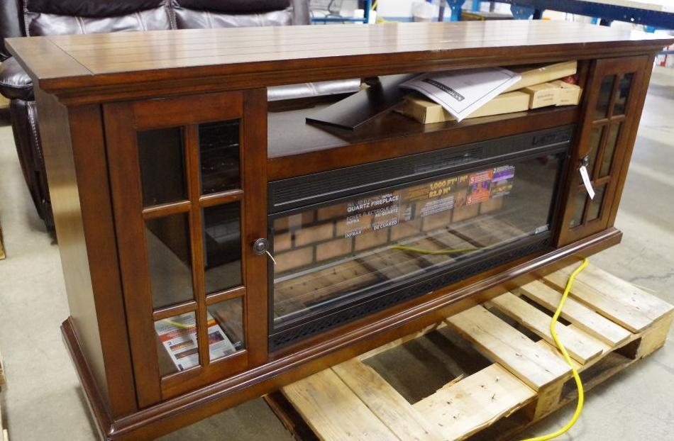 Tresanti 74 Quot Fireplace Console Tv Stand Appears New