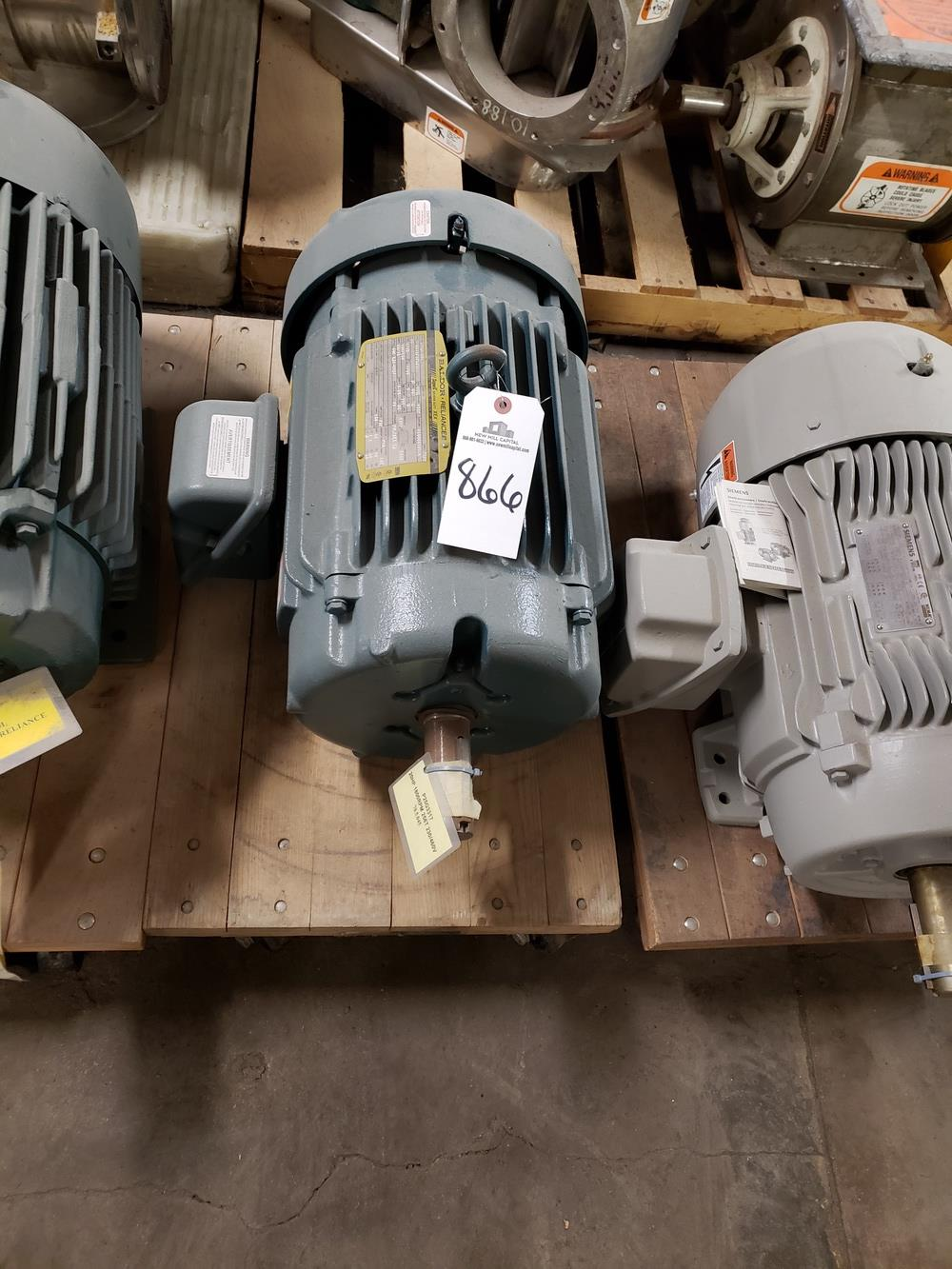 Baldor Electric Motor, 10 HP - Subject to Bulk Bid Lot 845B -The Greater of th | Rig Fee: No Charge