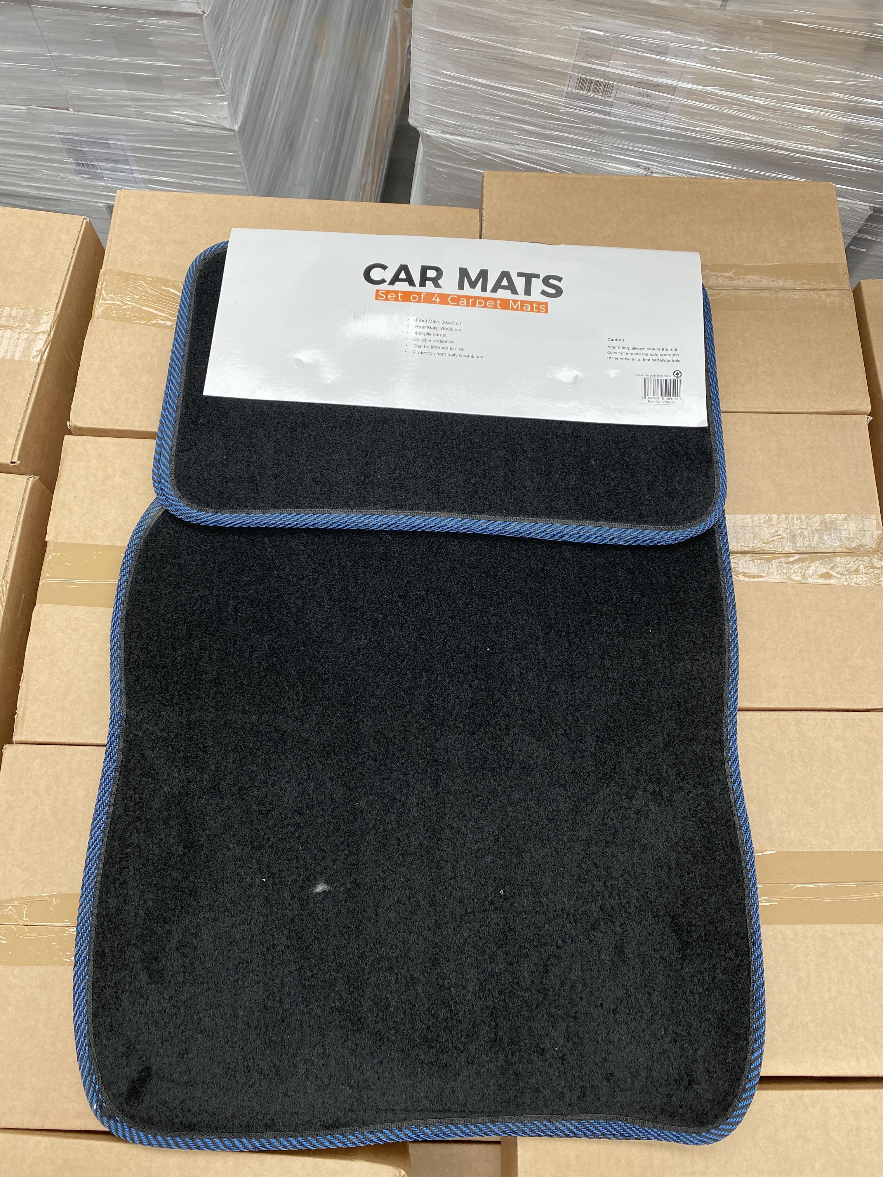 30 x HALFORDS set of 4 car carpet mats. Full RRP £300 plus - Image 2 of 2