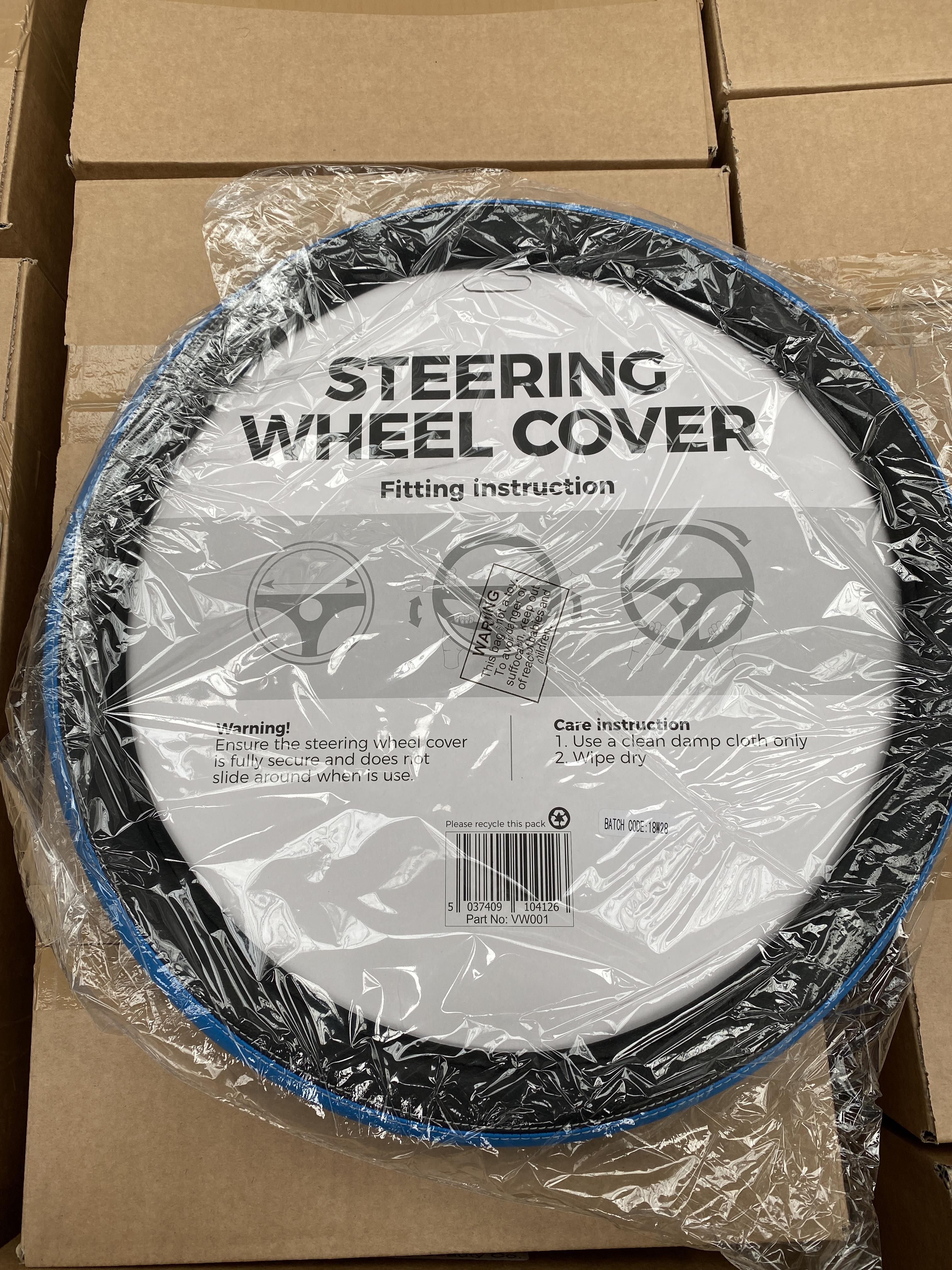 60 x HALFORDS steering wheel cover. Full RRP £480 plus - Image 2 of 2