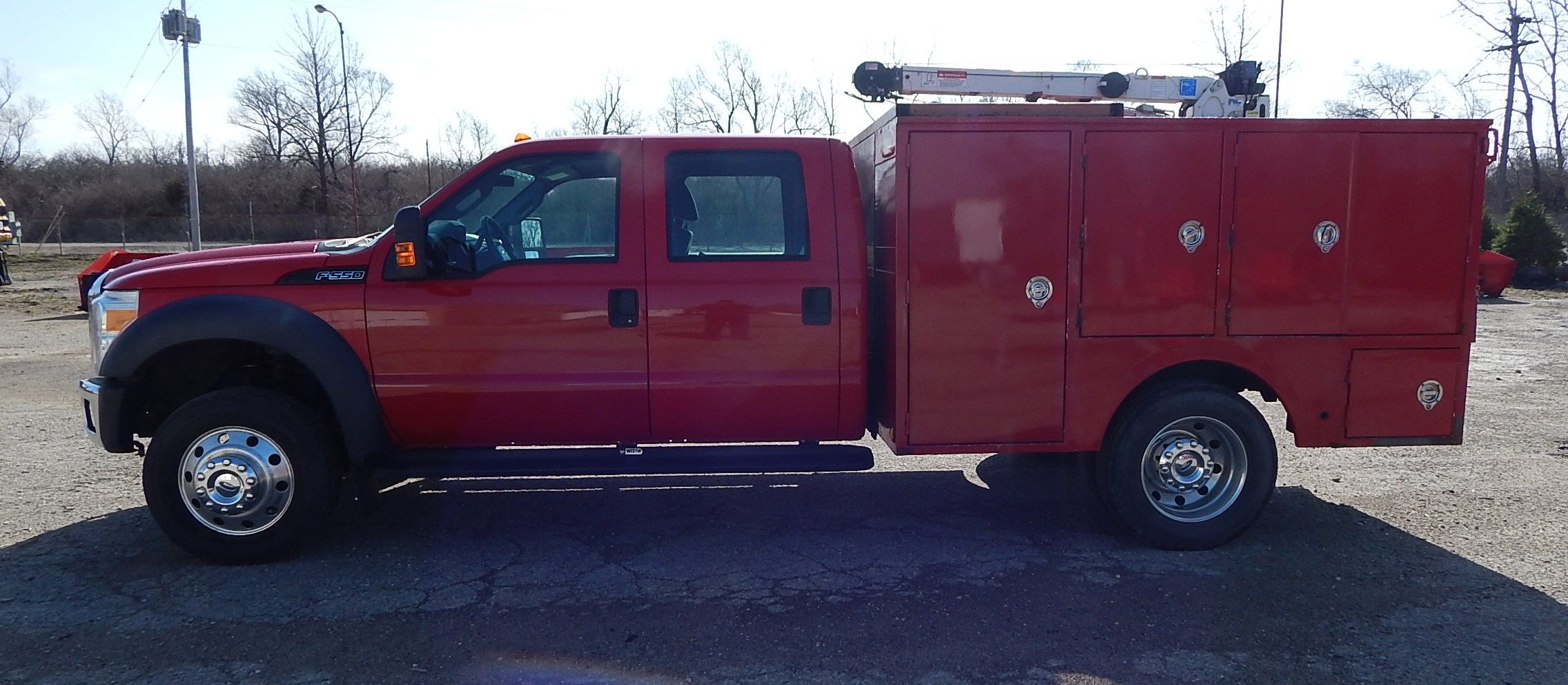 Lot 6 - 2012 Ford F550 XL Super Duty Dually Service Truck, VIN: 1FD0W5GT0CEA33207, Crew Cab, Automatic,