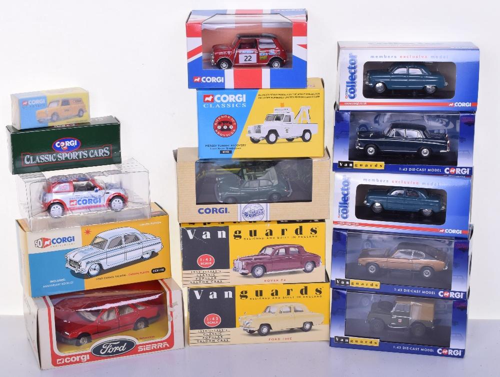 Corgi Vanguards Models, including Corgi CC01105 Ford Consul Saloon ...
