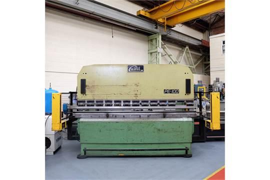 A Guifil PE100 Hydraulic Pressbrake, 100 ton x 3000mm, Top and