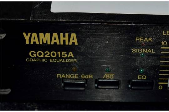 1 x Yamaha GQ2015A Graphic Equalizer - Untested - CL090