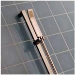 Lot 644 - 1 x Heritage STOC04 Torre Flex Kit Chrome Shower Riser, Hose & Shower Head - Polished CHrome