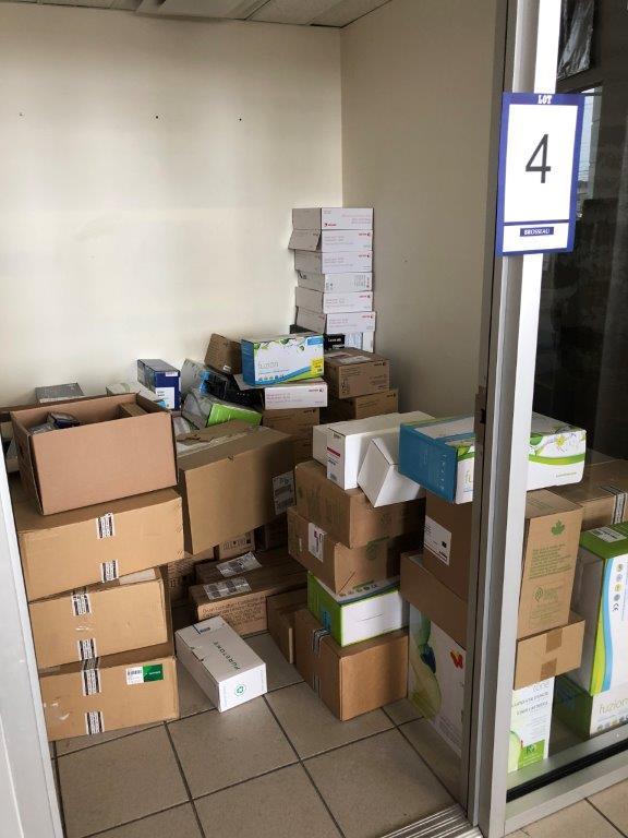 Lot 4 - Lot: cartouches d'encre assorties