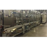 2010 Sidel Stacker, Model TSP2 T1, S/N 45B08, Previously Ran 8oz Double-Stacked Trays, Clear Shrin