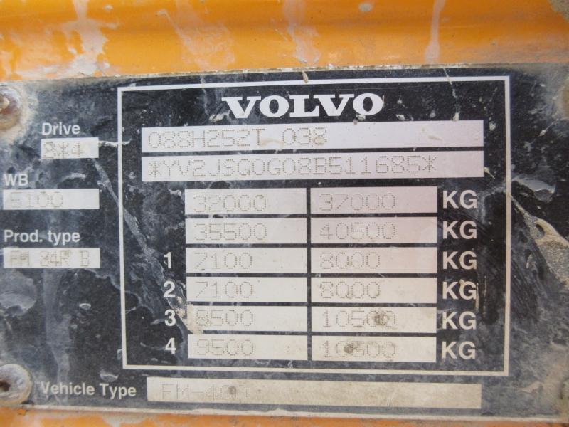 Lot 21 - VOLVO FM 400 - 12777cc Day Cab Diesel Automatic - VIN: YV2JSG0G08B511685 - Year: 2008 - TACHO
