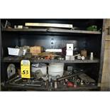 Lot - Cabinet with Contents