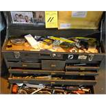Kennedy Tool Box with Assorted Tools and Contents