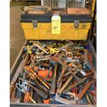 Lot - Tool Box with Assorted Hand Tools
