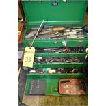Tool Box with Tools and Bits