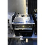 Victorian Baking Oven PS 1515W hot drawer with 2 pot well top electric 420mm x 450mm x 370mm